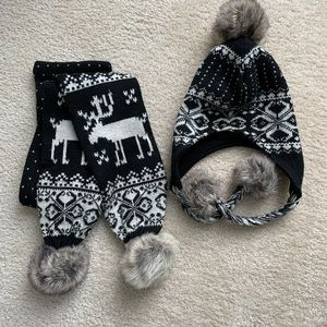 Steve Madden Scarf and Hat set